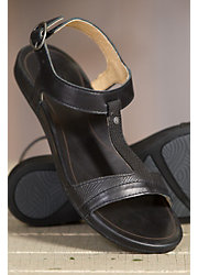 Women's Olukai Hi'ona Leather Sandals