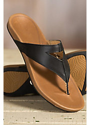 Women's Olukai Lala Leather Sandals