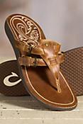 Women's Olukai Honoka'a Leather Sandals