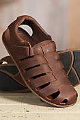 Men's Olukai Mohalu Fisherman Leather Sandals