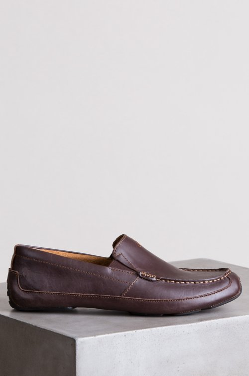 Men's Olukai Akepa Moc Leather Shoes