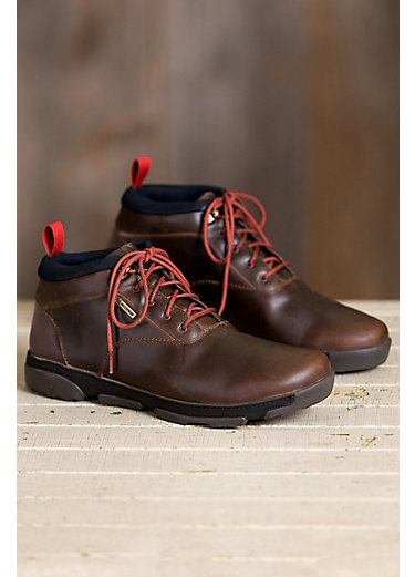 Men's Olukai Kualono Waterproof Leather Boots