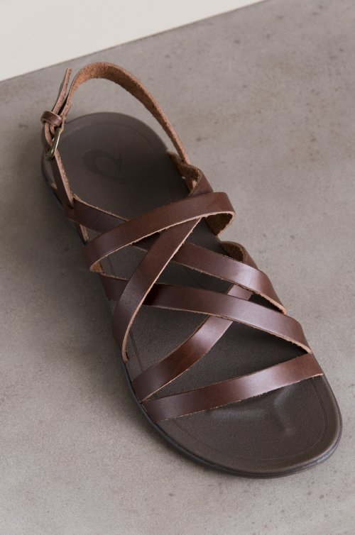 Women's Olukai Awe Awe Leather Sandals
