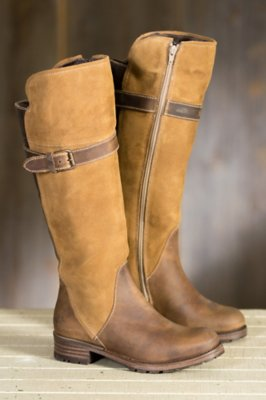 Women's Bos & Co Palma Tall Suede Leather Boots