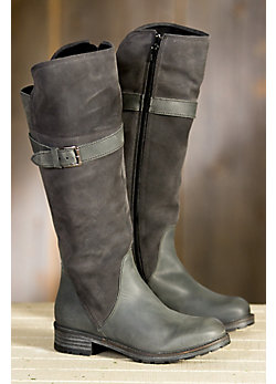 Women's Bos & Co Palma Tall Waterproof Suede Leather Boots