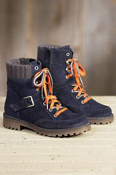 Women's Bos & Co Colony Waterproof Suede Boots