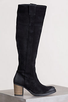 Women's Bos & Co Horton Tall Waterproof Suede Boots