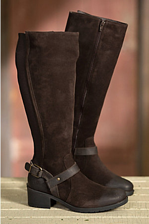 Women's Bos & Co Blossom Waterproof Suede Boots | Overland