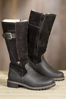 Women's Bos & Co Hailey Tall Waterproof Suede Boots