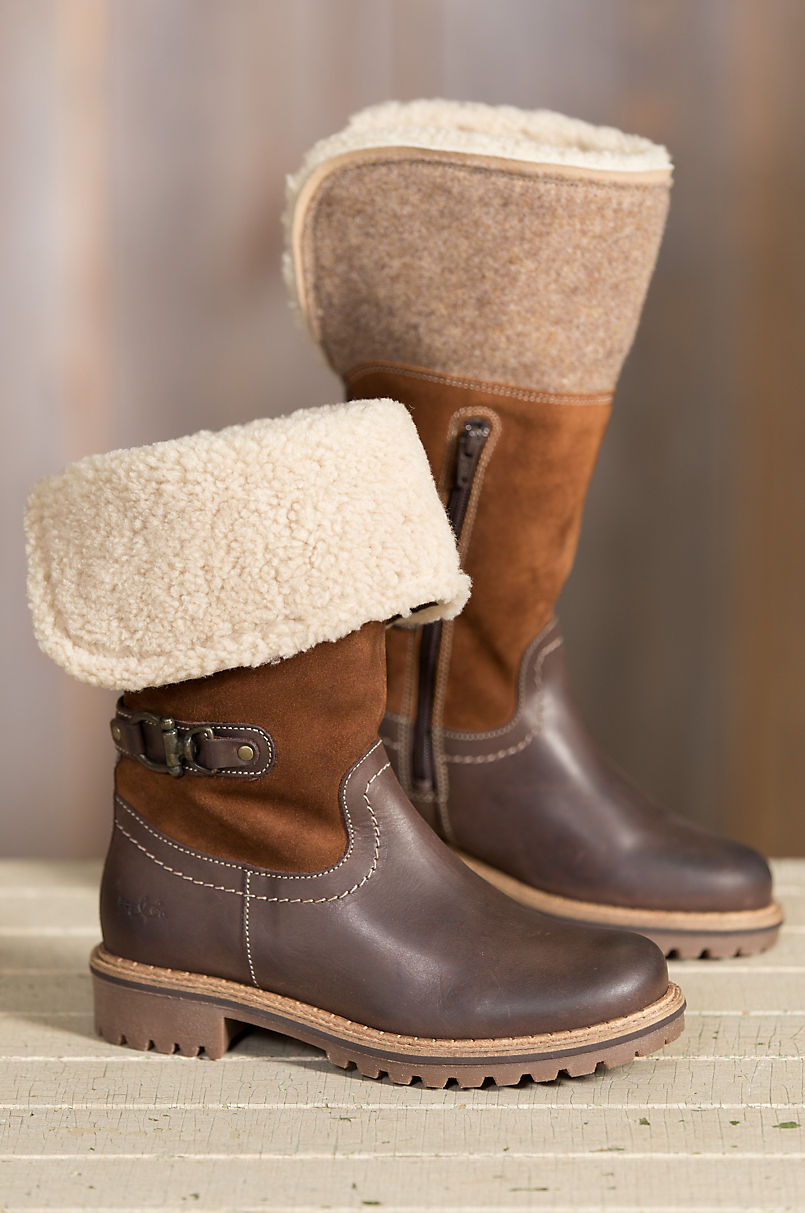 88b2a8ed Women's Bos & Co Hillory (Overland Edition) Wool-Lined Waterproof ...