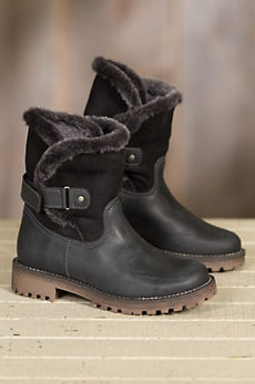 Women's Bos & Co Candy (Overland Edition) Wool-Lined Waterproof Leather Boots with Shearling Shaft