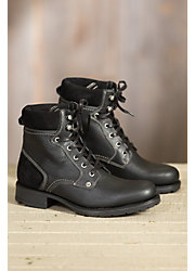 Men's Bos & Co Topia Wool-Lined Waterproof Leather Boots
