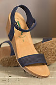 Women's Bos & Co Sarafina Leather Wedge Sandals