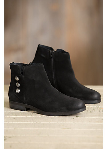 Women's Bos & Co Sheridan Waterproof Suede Ankle Boots