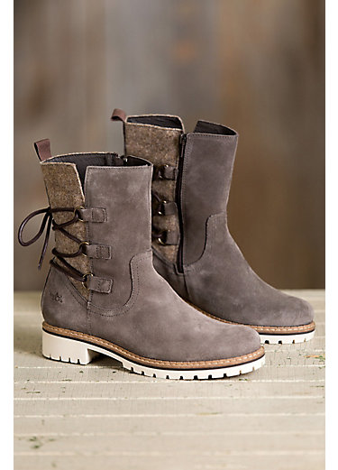 Women's Bos & Co Cascade Waterproof Suede Boots