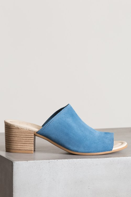Women's Bos & Co Fawn Suede Slide Sandals