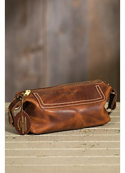 Americana Large Leather Travel Kit