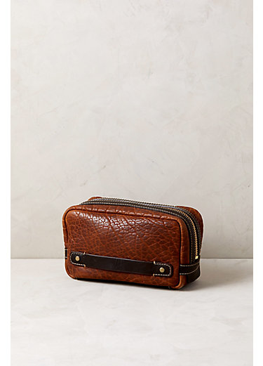 American Bison Leather Travel Kit