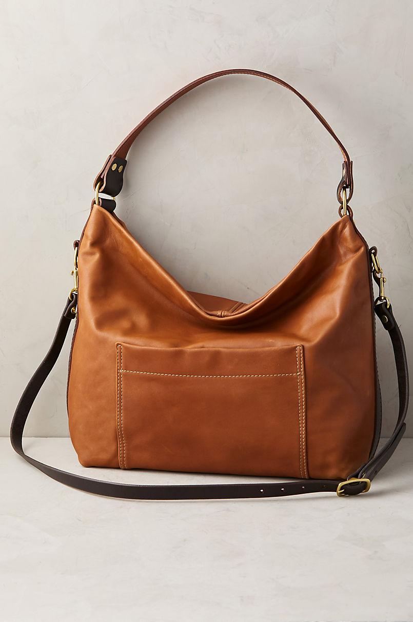 Helen Leather Crossbody Shoulder Bag with Concealed Carry Pocket