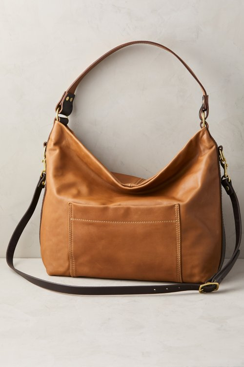 Helen Leather Crossbody Shoulder Bag with Concealed Carry Pocket