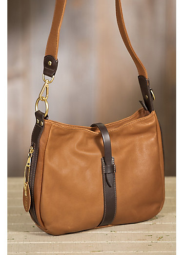 Anne Leather Crossbody Handbag with Concealed Carry Pocket