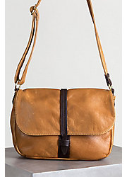 Overland Heidi Leather Crossbody Handbag with Concealed Carry Pocket