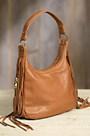 Overland Taos Collection Fringe Shoulder Bag with Concealed Carry Pocket