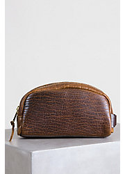 Coronado American Bison Leather Medium Travel Kit
