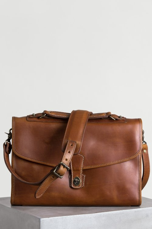 Americana Horween Leather Briefcase