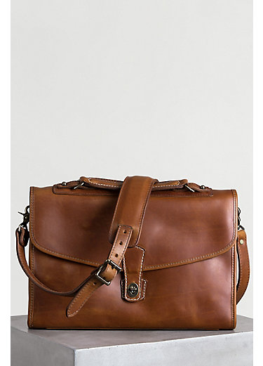 Americana Leather Briefcase