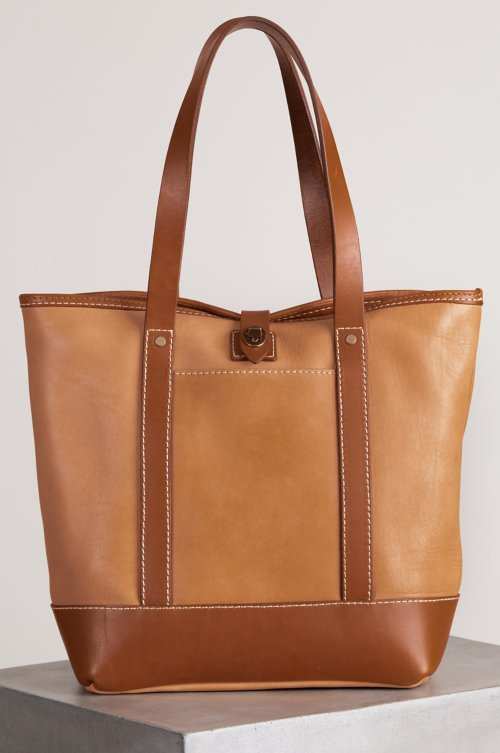 Essex Leather Tote Bag