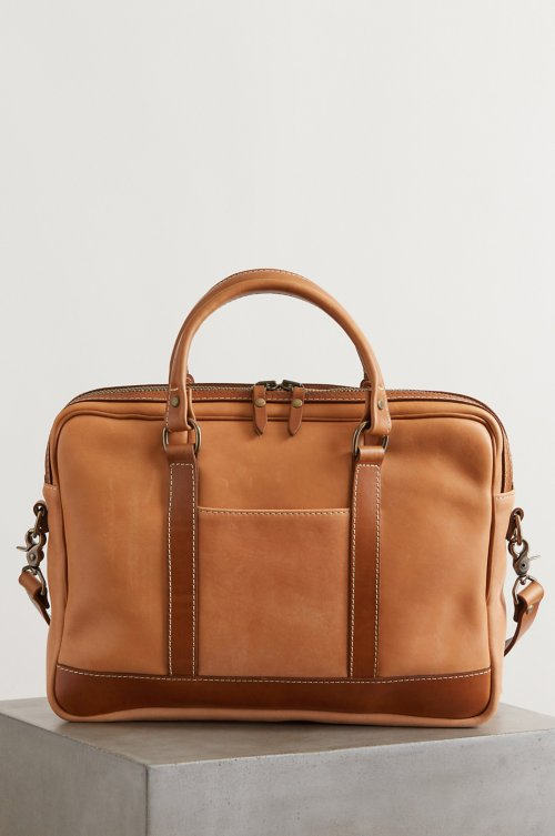 Essex Slim Horween Leather Briefcase