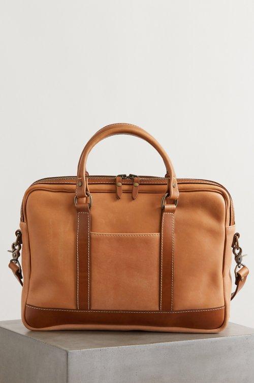 Essex Slim Leather Briefcase