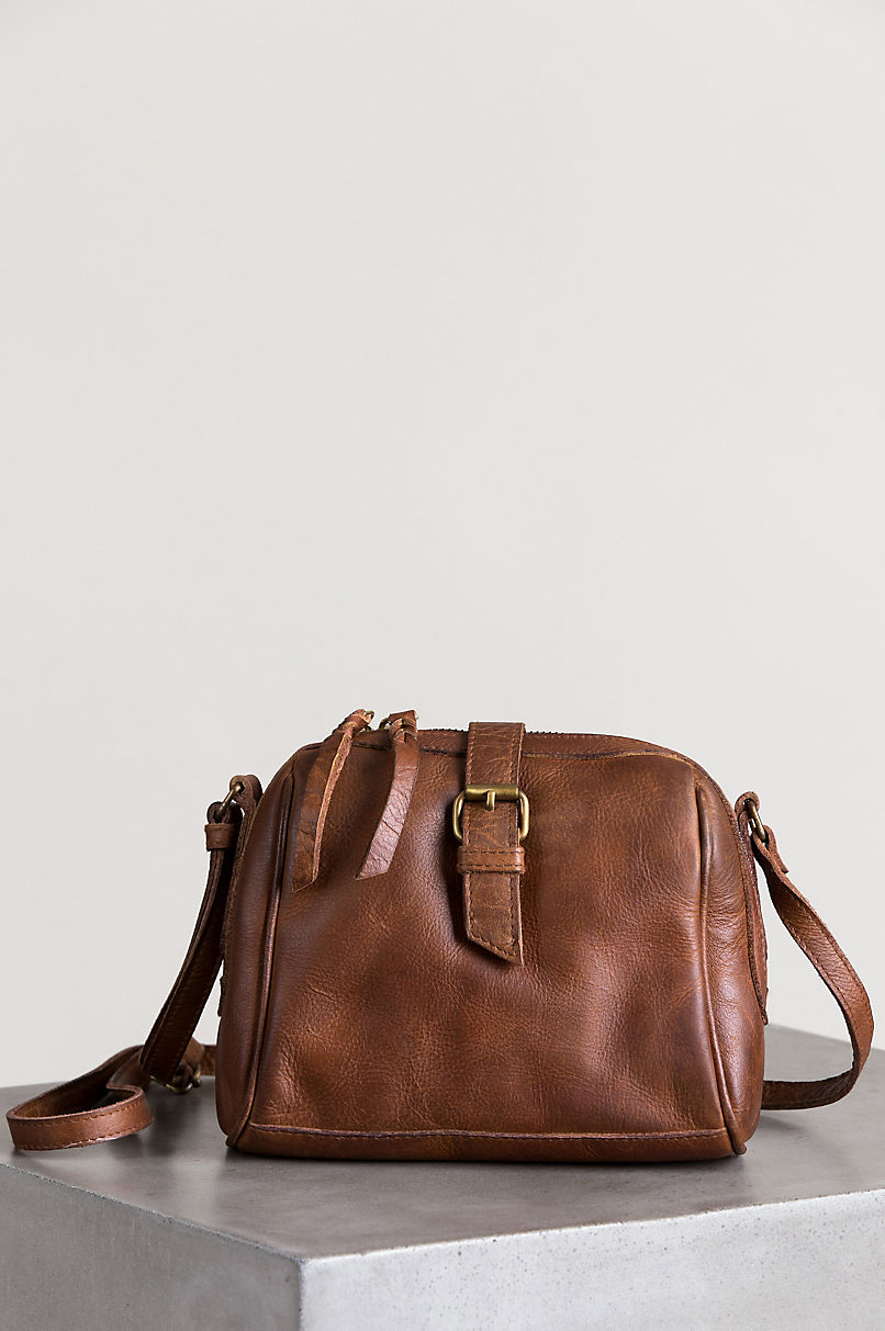 Salem Leather Crossbody Bag