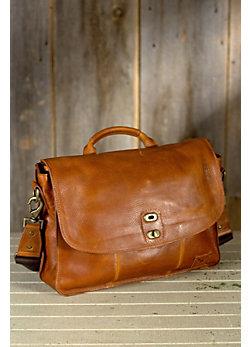 Will Kent Bridle Leather Messenger Bag