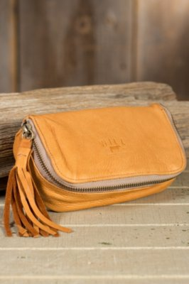 Will Avery Deerskin Leather Cosmetic Case