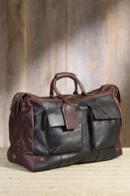 Will Traveler Bridle Leather Duffel Bag