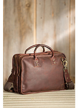 Will Hank Bridle Leather Satchel