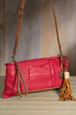 Will Isabel Deerskin Leather Clutch Handbag