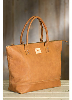 Will Getaway Leather Tote Bag