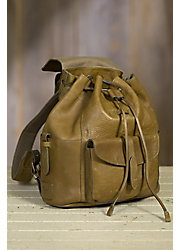 Will Rainier Bridle Leather Backpack