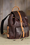 Will Rainier Leather Backpack