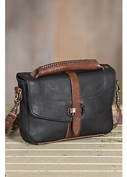 Will Athena Leather Crossbody Clutch Handbag