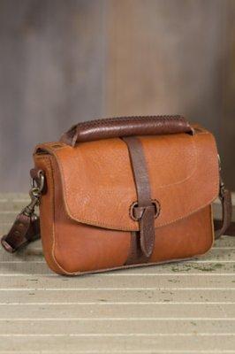 Will Athena Leather Crossbody Clutch Handbag