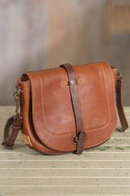Will Seneca Leather Messenger Bag