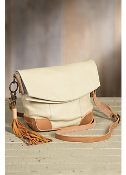 Will Hazel Deerskin Leather Crossbody Handbag