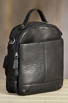 Classic Carryall Argentine Leather Crossbody Handbag