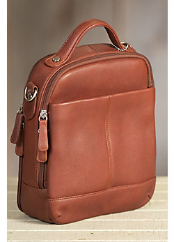 Classic Carryall Argentine Leather Handbag