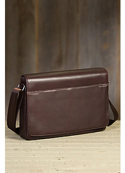 Diplomat Argentine Leather Messenger Bag