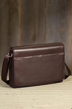 Diplomat Argentine Leather Messenger Bag